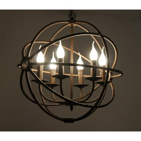 Подвесной светильник Industrial Forged Sphere