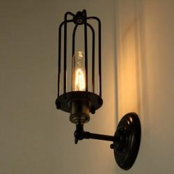 Настенный светильник Vintage Light Cage