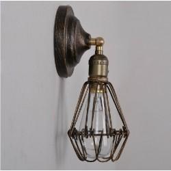 Настенный светильник Retro Edison Wall Cage