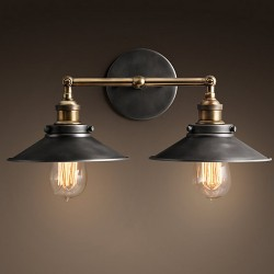 Настенный светильник Retro Edison Double Wall