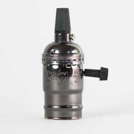 Алюминиевый патрон с выключателем