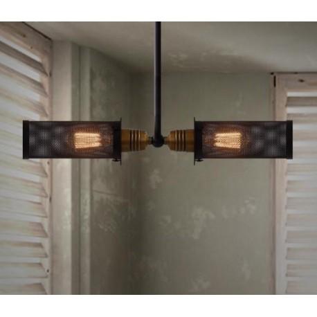 Industrial Spyglass lamp