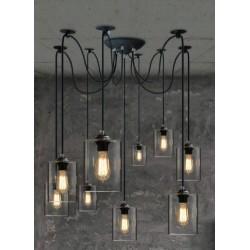 Подвесной светильник Loft Cans Pendulous 5-9
