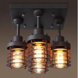 Industrial Edison Squad Lamp