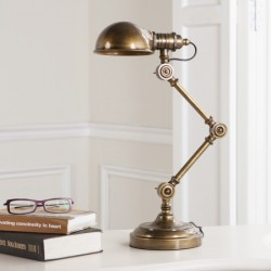 BRASS STEAMPUNK TABLE LAMP