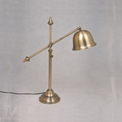 ANTIC BELL TABLE LAMP