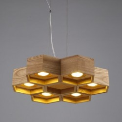 Honeycomb 6 Loft Wooden Ecolight