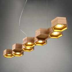 Honeycomb 7 Loft Wooden Ecolight