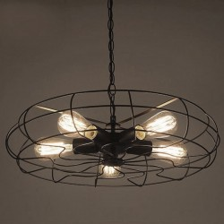Industrial Ceiling Fan Long