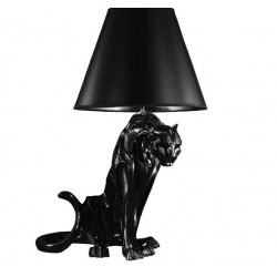 Modern Italian Design Resin Leopards