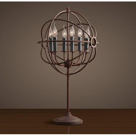 Restoration Orb Table Lamp