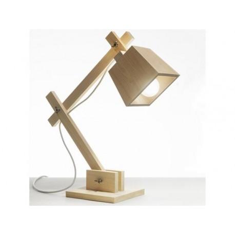 Loft Wood Lamp