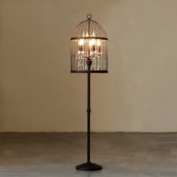 Restoration Hardaware Crystal Floor Lamp