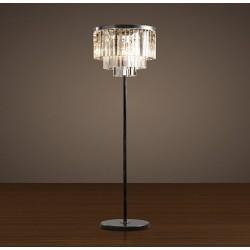 Restoration Hardaware 1920S Odeon Glass Floor Lamp