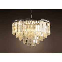 1920s Odeon Glass Fringe Chandelier (s)