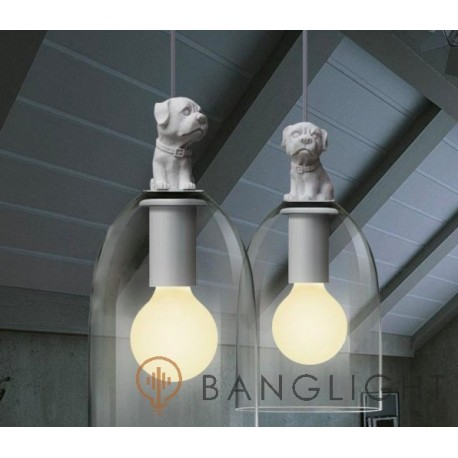 Antoine Laverdiere Dog lamp