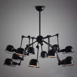 Industrial Simple Cap Chandelier