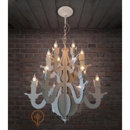 Industrial Retro Glam Lamp