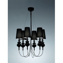 Metalarte Josephine Queen 6 Chandelier
