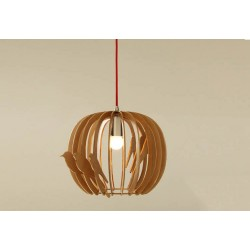 Wooden Design Bird Nest