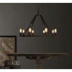 Industrial Circle Candle
