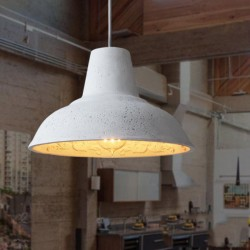 Industrial Concrete Lamp