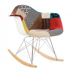 RAR ROCKING PATCHWORK DESIGNED BY CHARLES AND RAY EAMES
