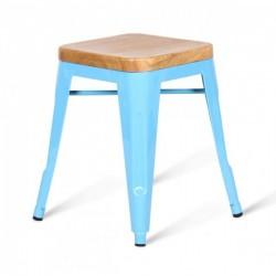 Стул Tolix Wood Seat Stool