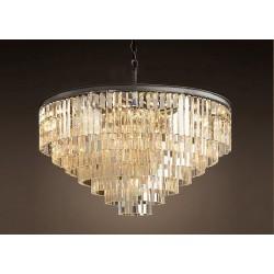 Подвесной светильник 1920s Odeon Glass Fringe Chandelier (L)